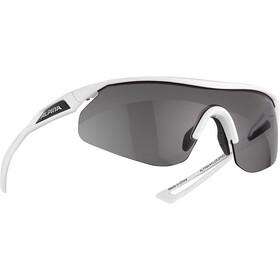 Alpina Nylos Shield VL Okulary rowerowe, biały